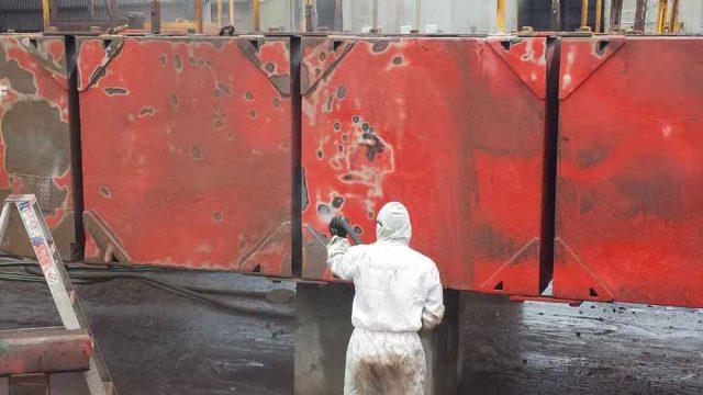 Mobile Wet Abrasive Blasting Australia
