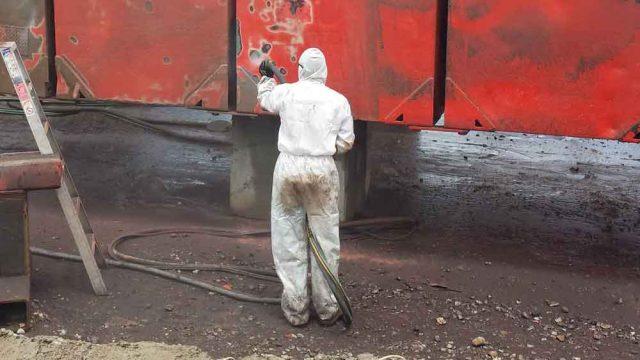 Australian Mobile Wet Abrasive Blasting Equipment