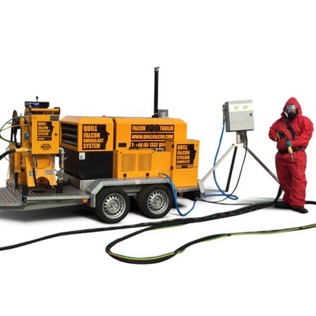 Wet Abrasive Blasting Equipment Australia