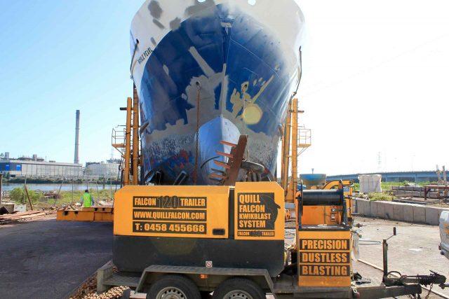 Australia Quill Falcon Cyclone Dustless Blasting Machines